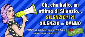 Silenzio:Panico=Danno:Silenzio