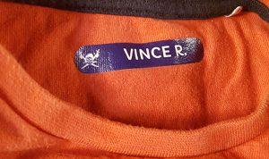 Etichetta termoadesiva su maglia
