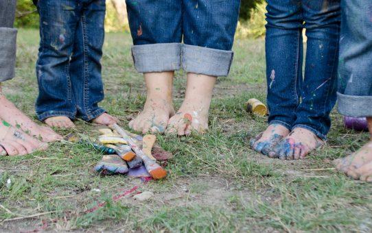 jeans piedi bambini