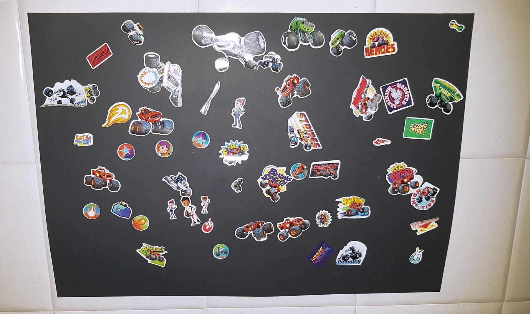 spannolinamento e sticker